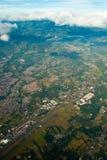 powietrzny costa Jose rica San widok zdjęcia royalty free