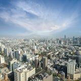 Powietrzny drapacza chmur widok budynek biurowy, śródmieście i citys Obraz Royalty Free