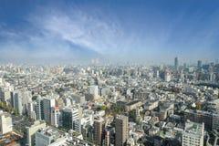 Powietrzny drapacza chmur widok budynek biurowy, śródmieście i citys Fotografia Royalty Free