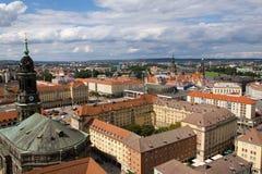 powietrzny Dresden Zdjęcie Stock
