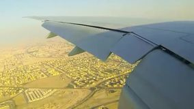 Powietrzny flyover Południowa Afryka przylądka Doha miasto zbiory