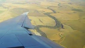 Powietrzny flyover Południowa Afryka przylądka Doha miasto zbiory wideo