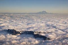 powietrzny góry rainer widok Obrazy Royalty Free