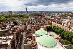 powietrzny katedralny widok Westminster Zdjęcie Stock