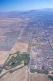 powietrzny las Vegas widok Zdjęcie Stock