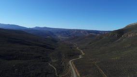 Powietrzny materiał filmowy Robertson w Południowa Afryka zdjęcie wideo