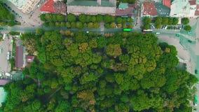 Powietrzny materiał filmowy z głównym ekspresowym drogowym skrzyżowaniem przemysłowy i logistyka park 4K zbiory