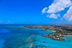 Powietrzny Mauritius obrazy stock