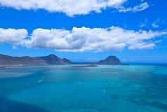 Powietrzny Mauritius obrazy royalty free