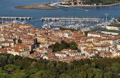 powietrzny miasta Italy Venice widok Fotografia Royalty Free