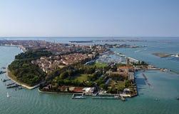 powietrzny miasta Italy Venice widok Obraz Royalty Free