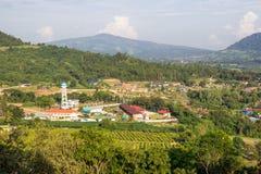 powietrzny miasteczka indyka widok Zdjęcia Royalty Free
