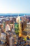 powietrzny miasto nowy York Zdjęcia Stock