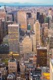 powietrzny miasto nowy York Zdjęcie Stock