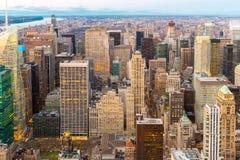 powietrzny miasto nowy York Obrazy Stock
