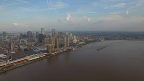 Powietrzny Mississippi Nowy Orlean zdjęcie wideo
