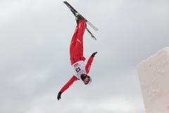 Powietrzny narciarstwo Obraz Stock