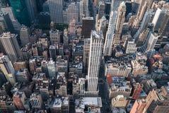 powietrzny nowy York Zdjęcia Stock