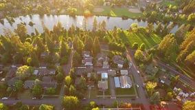 Powietrzny Oregon chył zdjęcie wideo