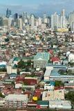 Powietrzny przegląd Manila Obraz Royalty Free