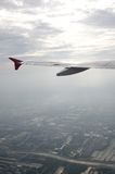 powietrzny samolotowy widok Obraz Stock