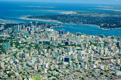 Powietrzny Tanzania Zdjęcia Stock