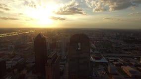 Powietrzny Teksas Dallas zbiory wideo