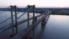 Powietrzny trutnia Delaware pomnika most zbiory