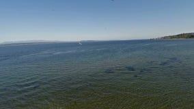 Powietrzny Waszyngtoński Seattle Puget Sound zbiory wideo