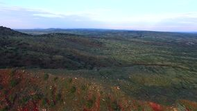 Powietrzny wideo góra krajobraz zdjęcie wideo