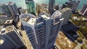 Powietrzny wideo highrise kondominium zbiory