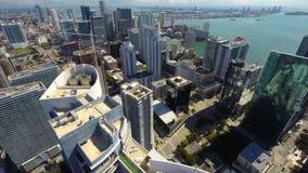 Powietrzny wideo highrise kondominium przy Brickell zdjęcie wideo