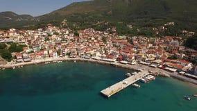 Powietrzny wideo Parga, Grecja zbiory