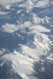 powietrzny widok górski zdjęcie royalty free