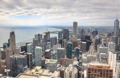 Powietrzny wizerunek Chicago, Illinois Fotografia Royalty Free