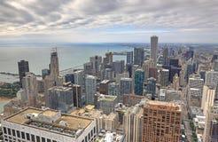 Powietrzny wizerunek Chicago, Illinois Zdjęcie Royalty Free