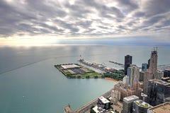Powietrzny wizerunek Chicago, Illinois Zdjęcia Royalty Free