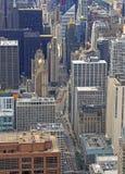 Powietrzny wizerunek Chicago, Illinois Zdjęcia Stock