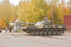Powietrzny wyśledzony opancerzony pojazd BMD-3 Fotografia Royalty Free
