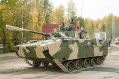 Powietrzny wyśledzony opancerzony pojazd BMD-4M Fotografia Stock