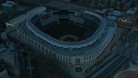 Powietrzny zoom Jankeska stadium markiza zbiory