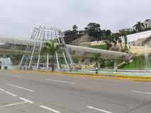 Powietrzny zwyczajny sposób w Chorrillos, Lima obrazy stock