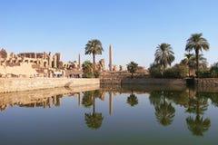 powikłana Egypt karnak Luxor świątynia Zdjęcia Stock