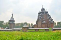 Powikłana rezydencja ziemska Bogoslovka blisko St Petersburg Obraz Stock