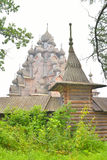 Powikłana rezydencja ziemska Bogoslovka blisko St Petersburg Zdjęcie Stock