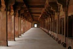 powikłanego korytarza pusty fatehpur ind sikri Obraz Royalty Free