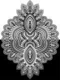 Powikłany ornament Yin i Yang Zdjęcie Royalty Free