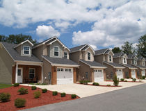 powikłana mieszkań własnościowych dochodu depresji emerytura Fotografia Stock