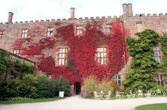 Powis Castle in England Royalty Free Stock Images