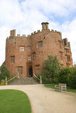 Powis Castle entrance in Welshpool, Powys, Wales, England, Europe Stock Photos